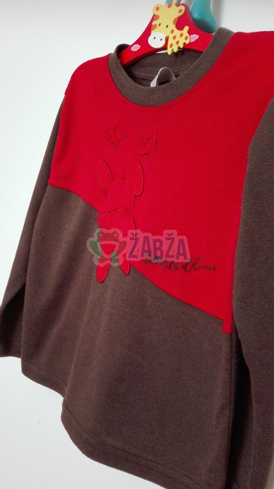 Tričko s dlouhým rukávem vel.92-98