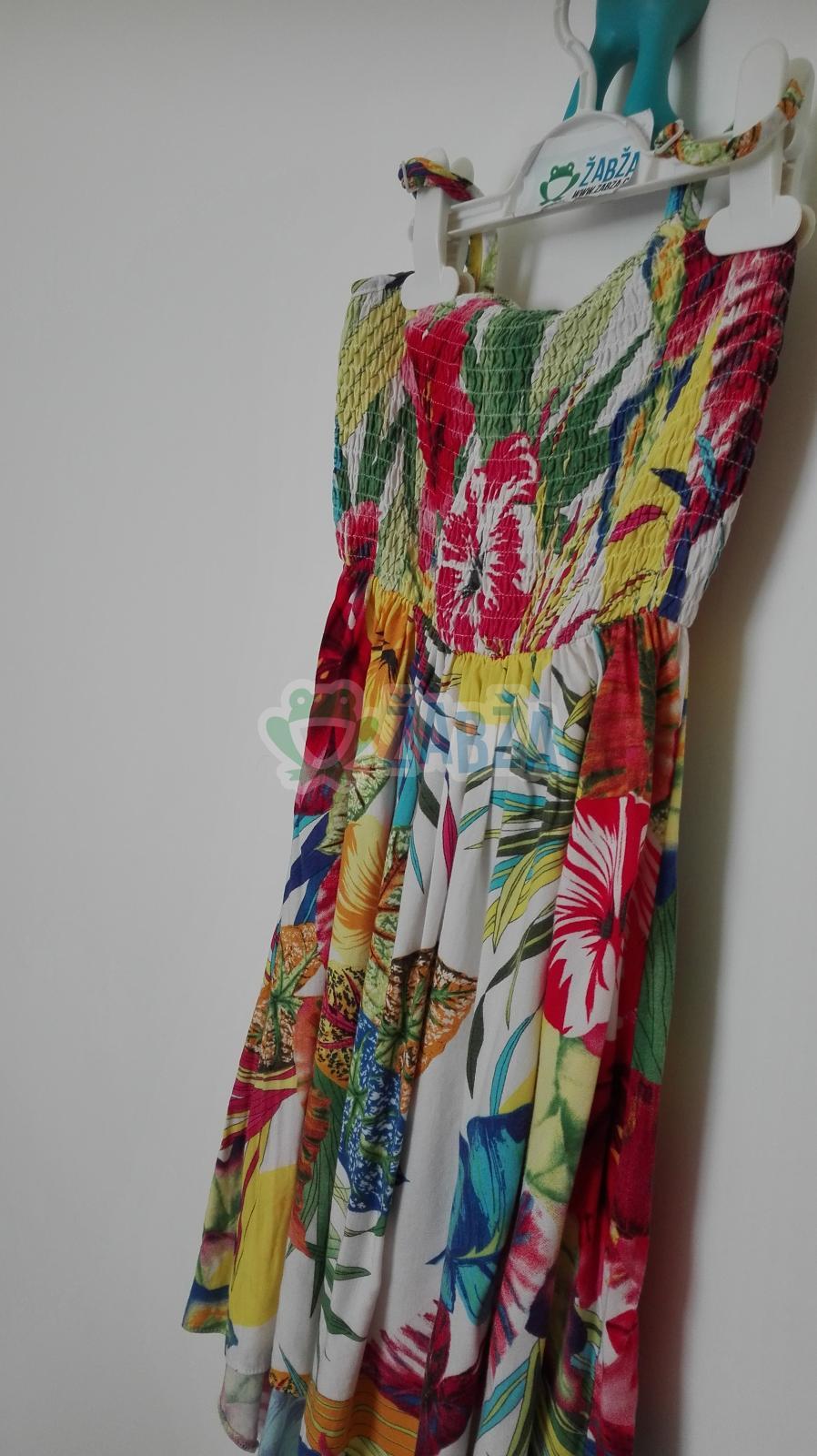Šaty na ramínka