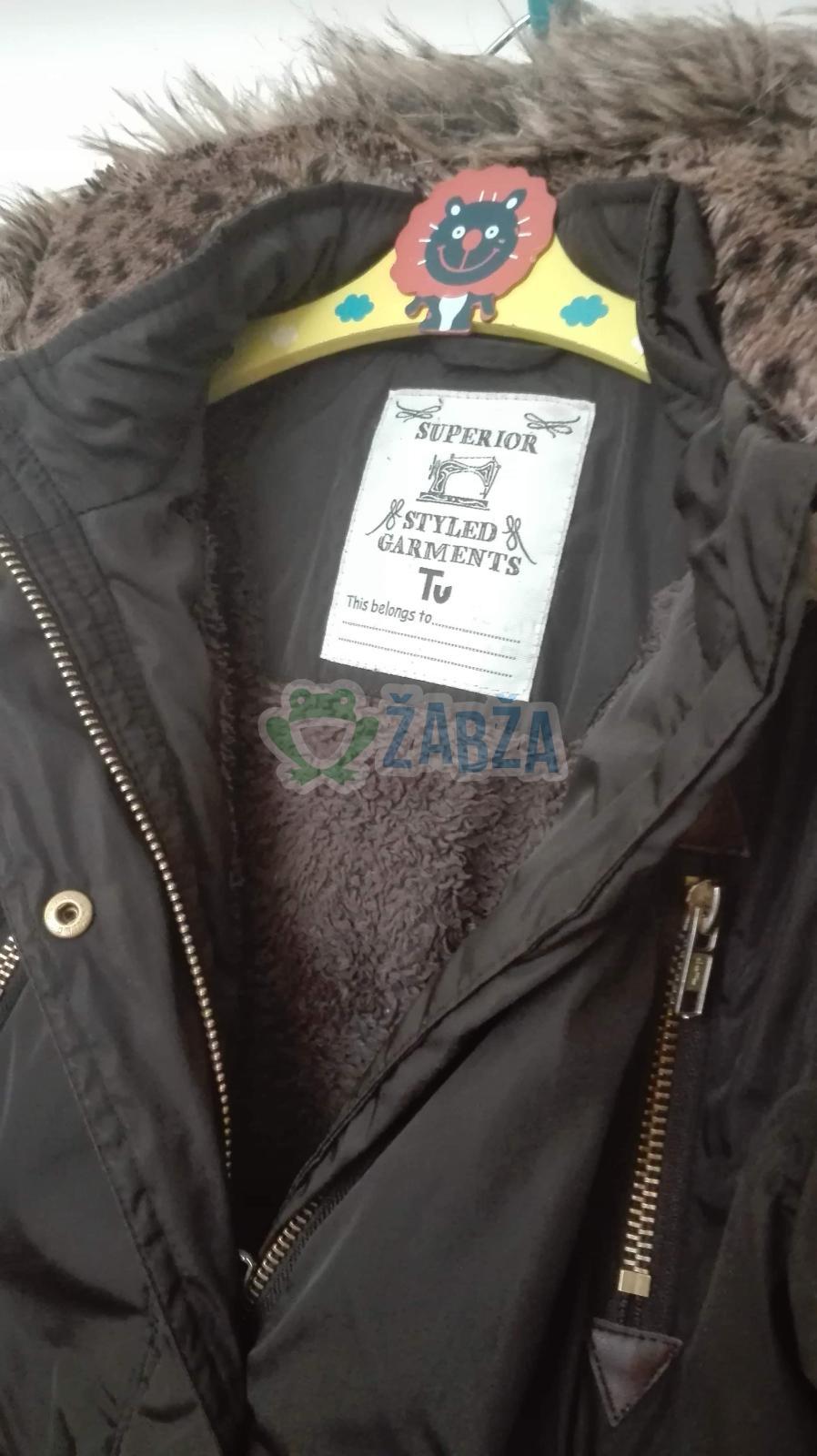 Chlapecká zimní prošívaná bunda