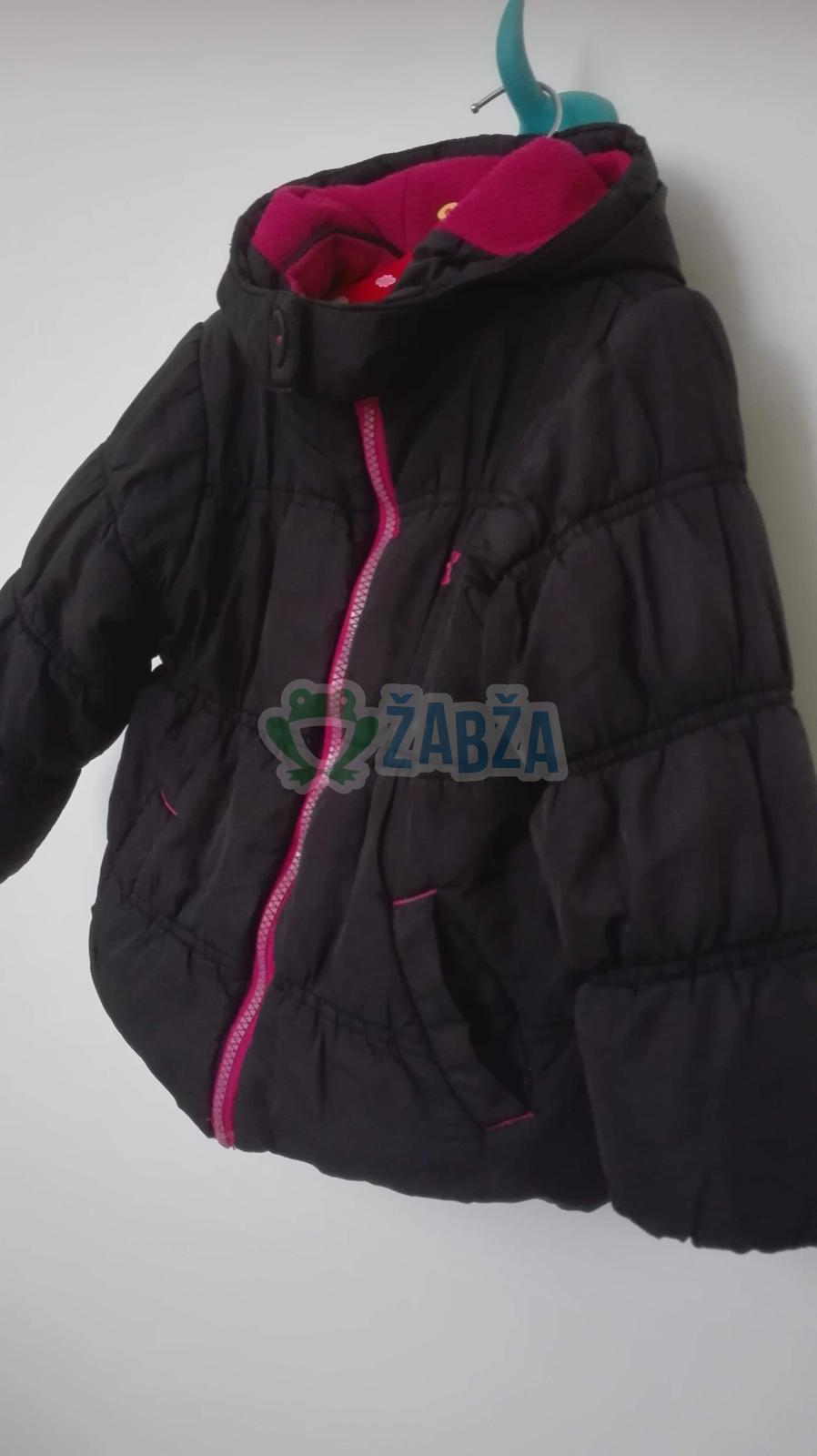 Dívčí zimní prošívaná bundička(18-24měs)