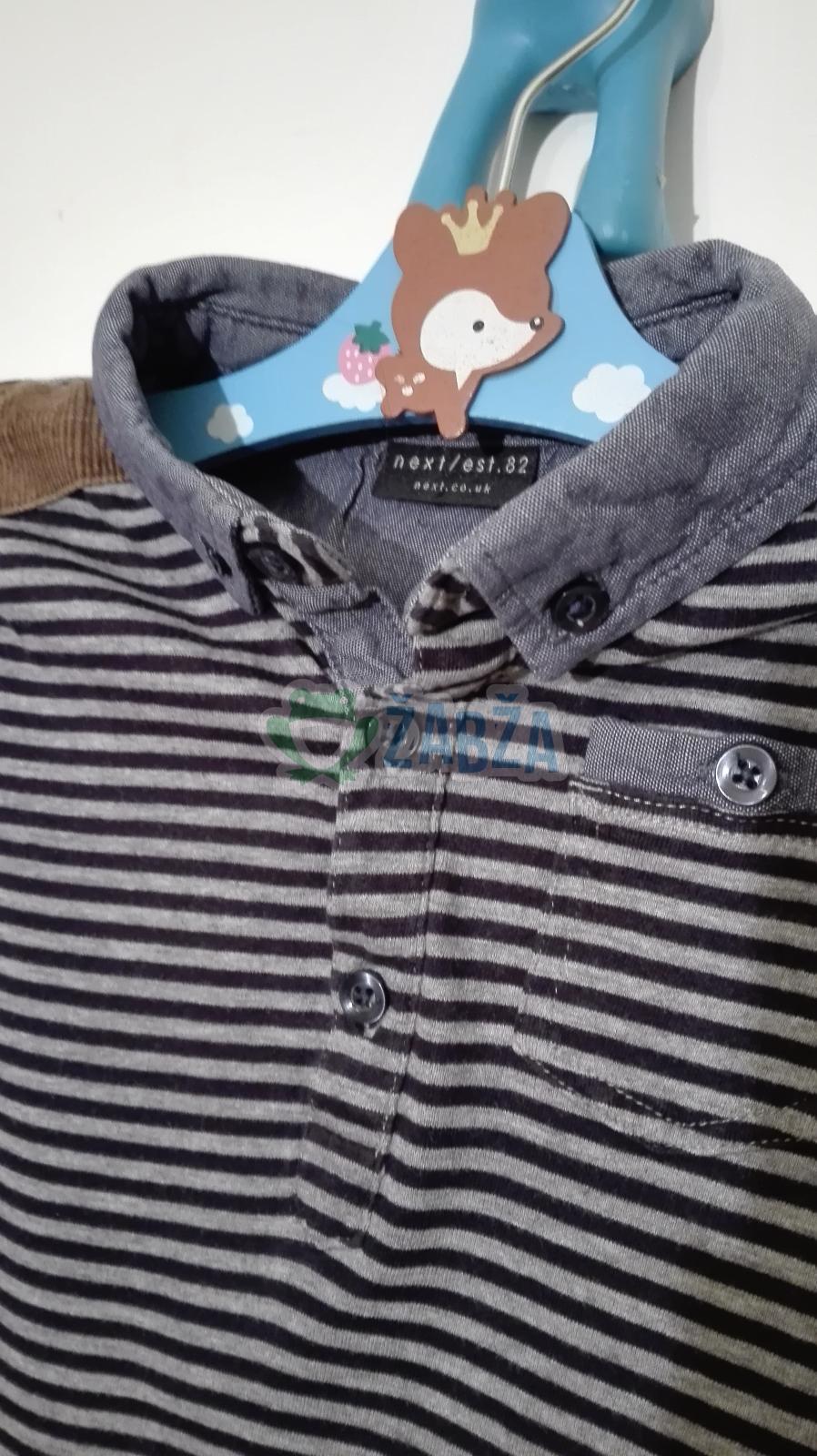 Tričko bavlněné,polokošile /18-24měs.)