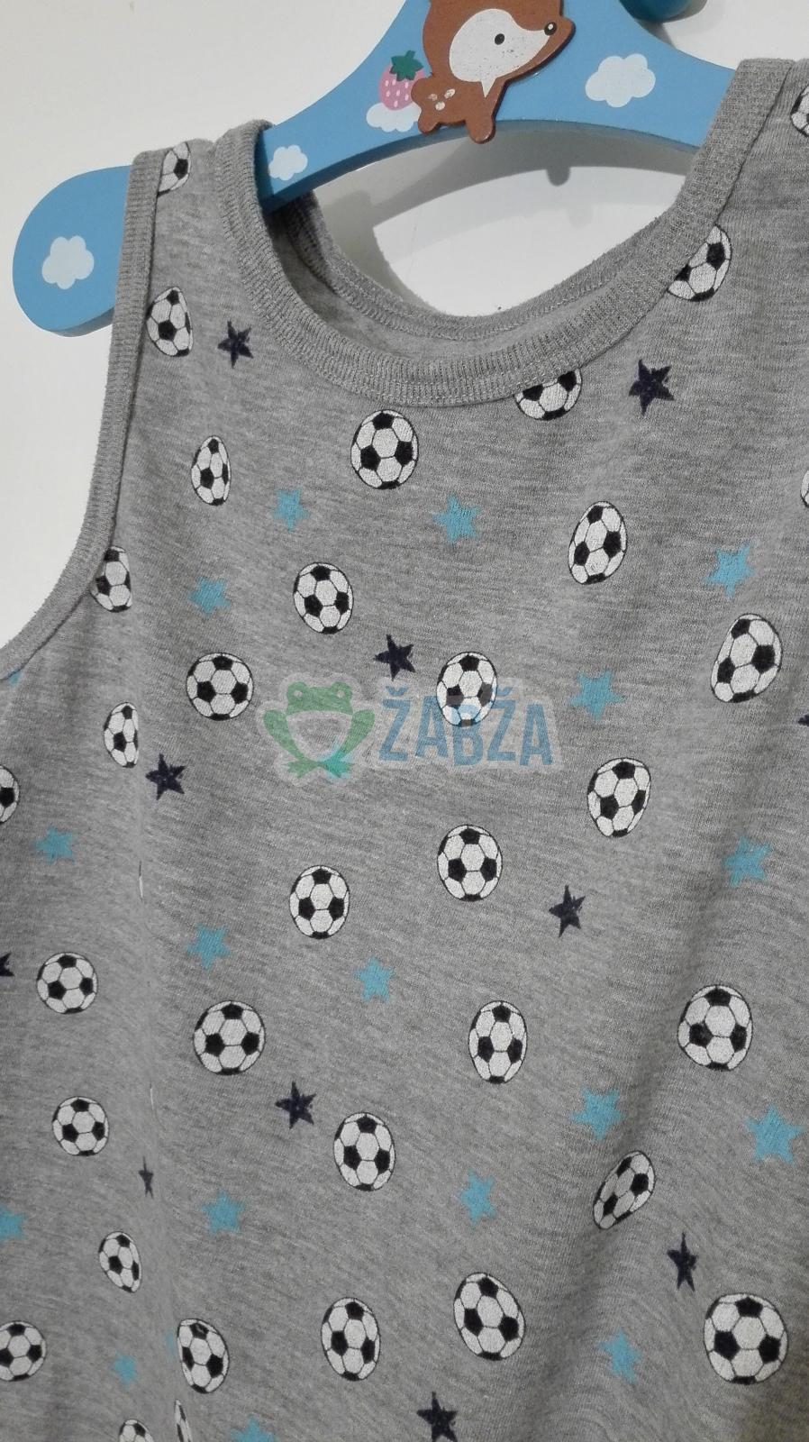 Tričko-tílko bavlněné (12-18měs.)