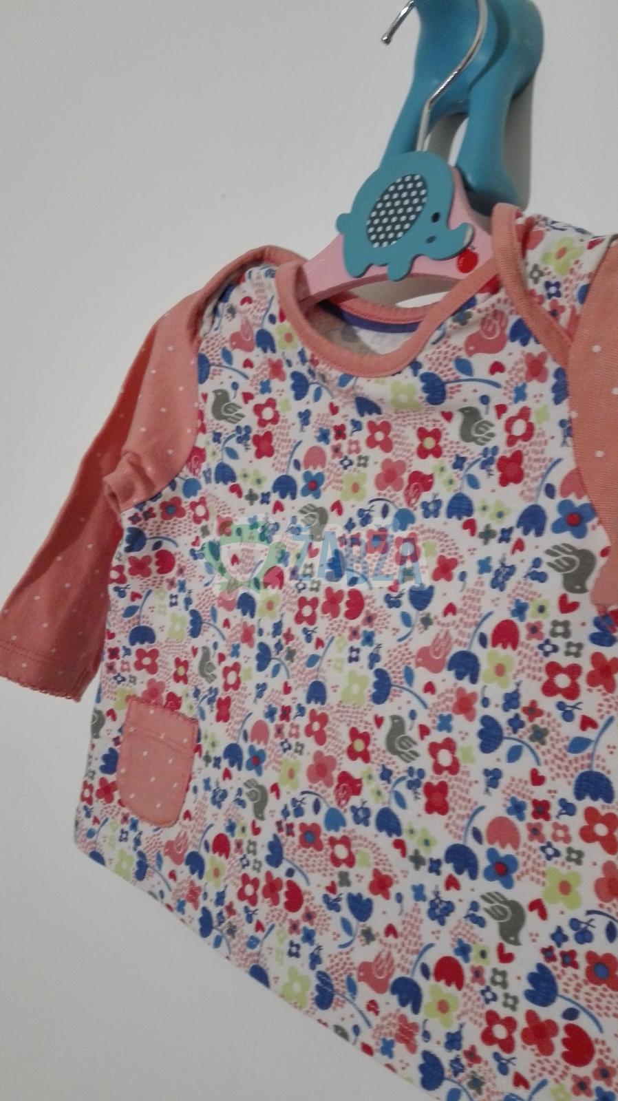 Tričko s dlouhým rukávem (0-2měs.)