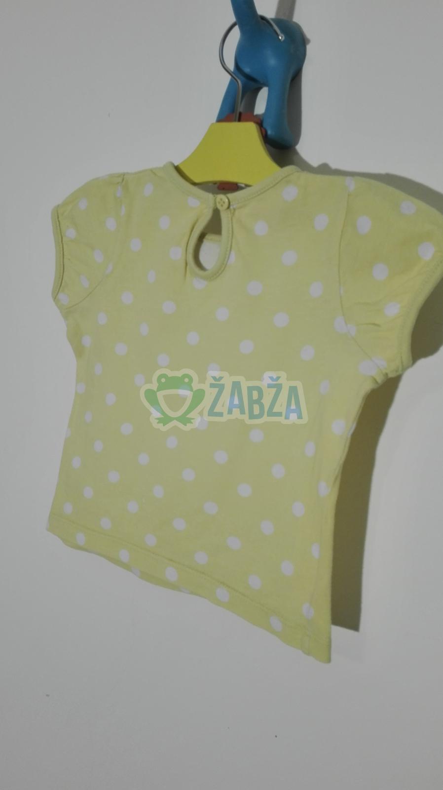Dívčí tričko (9-12měs.)