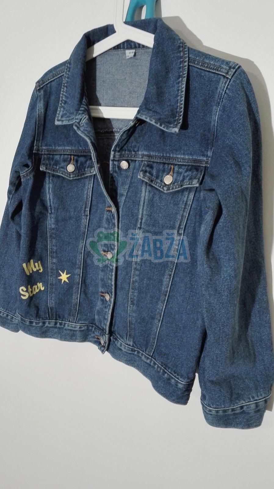Džínová bunda (11-12r.)