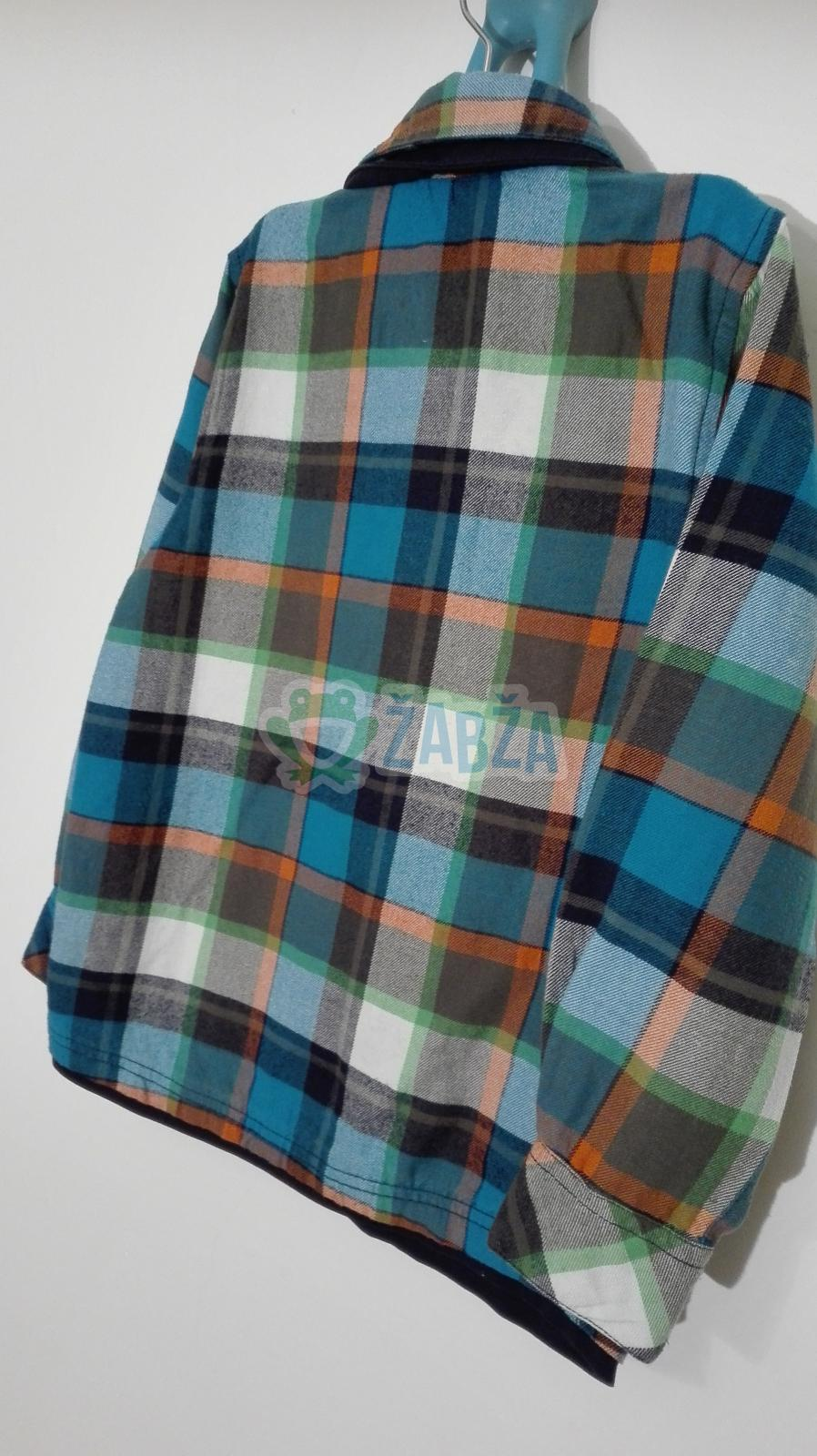 Košile flanel (6-7r.)