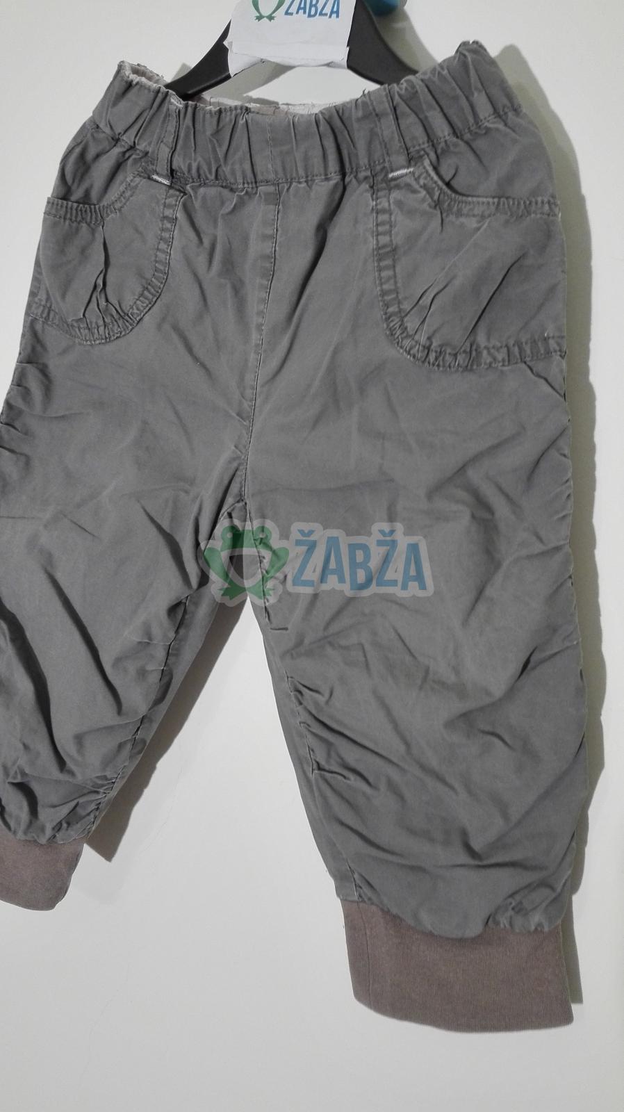 Kalhoty šustáky (9-12měs.)