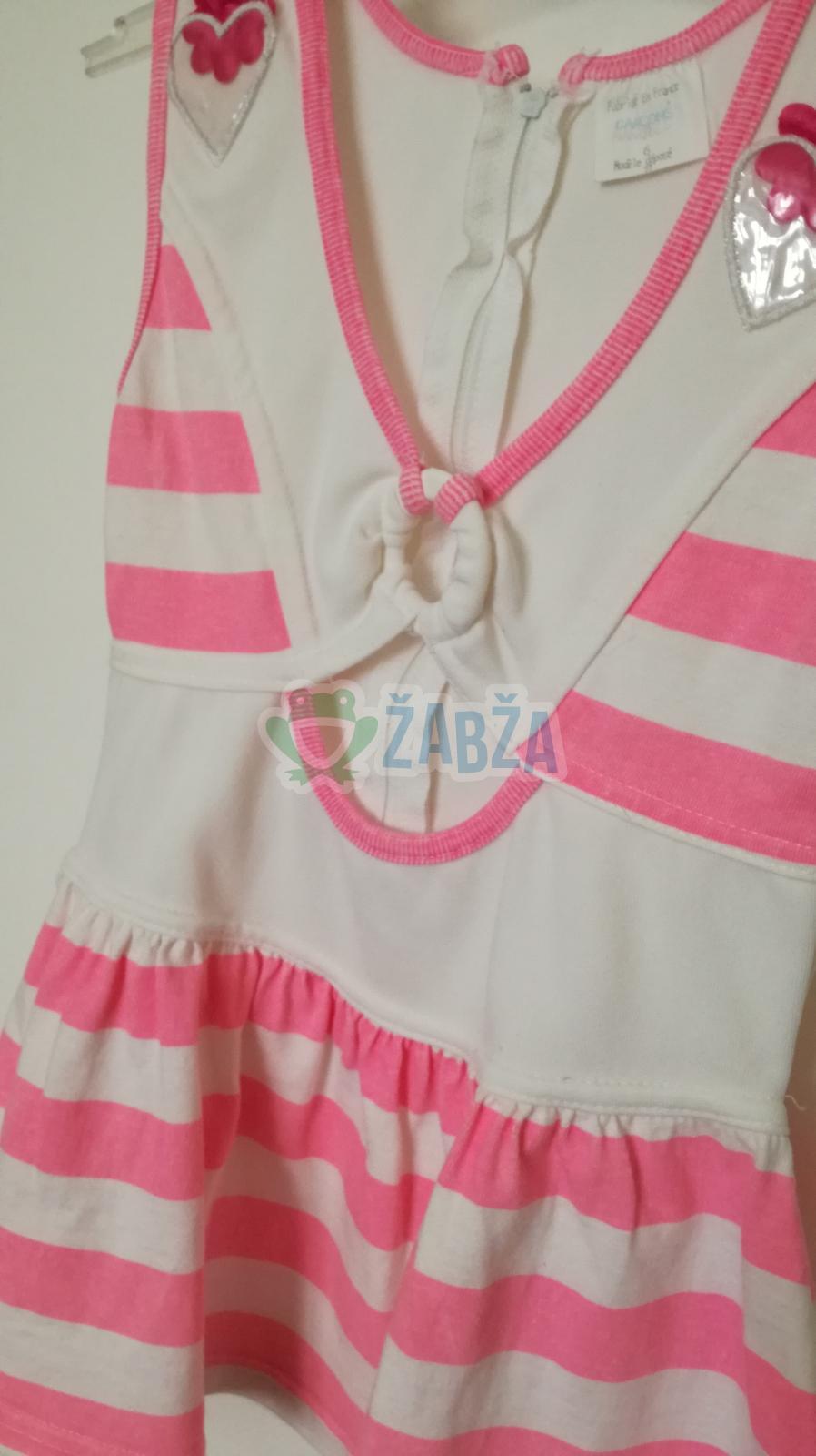 Letní šaty vel.98-104
