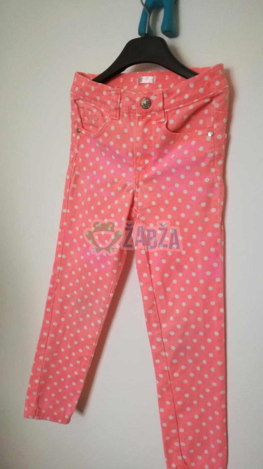 Dívčí kalhoty vel.116