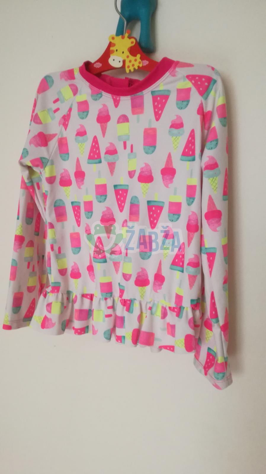 Tričko s kanýrky