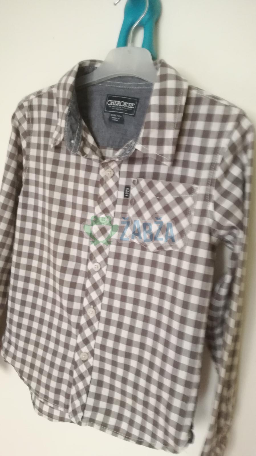 Plátěná košile vel.128
