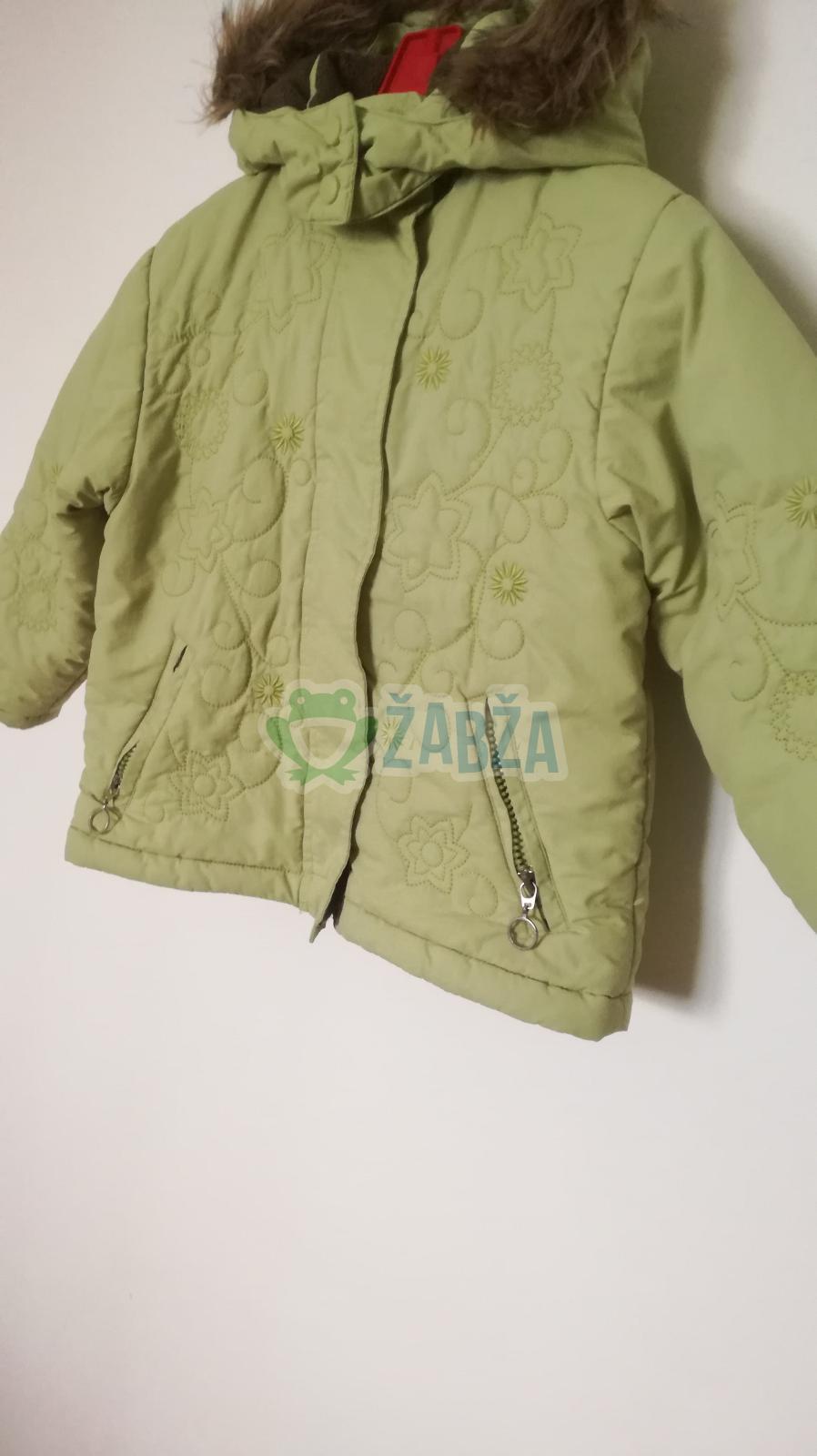 Dívčí zimní bunda (vel.104-110)
