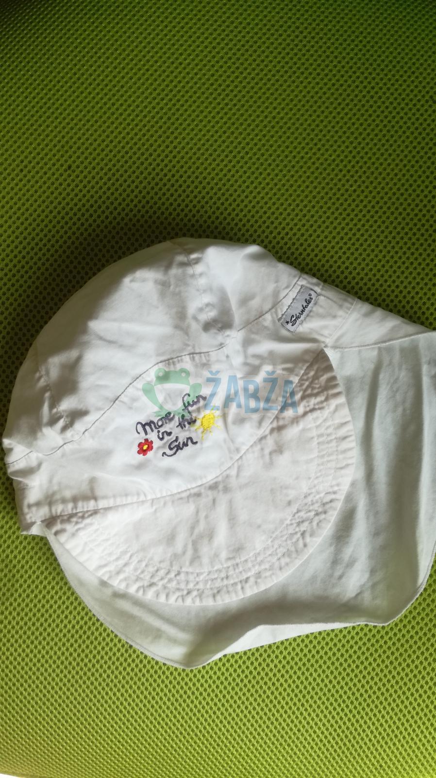 Čepice plátěná (obvod 47cm)